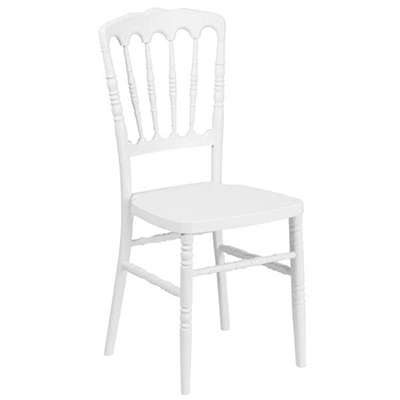 White Banquet Chair Hire