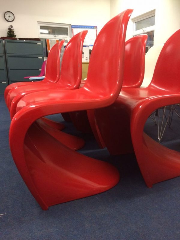 red-pantons-chair-hire London