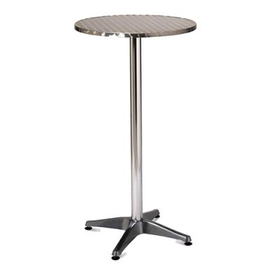 Aluminium Poseur Table London