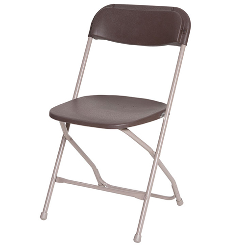 Brown Samsonite Folding Chair Hire