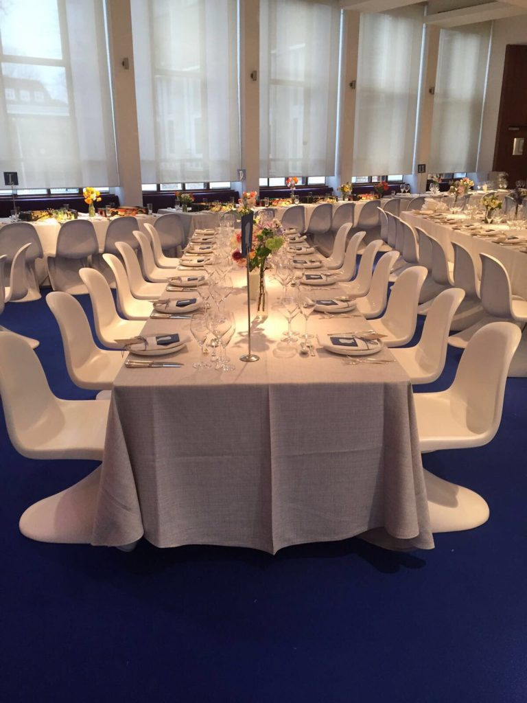 White Panton Chair Hire London
