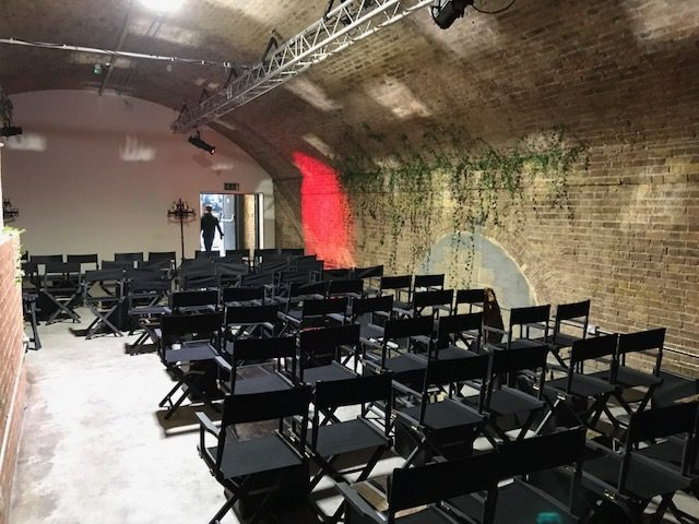 Black chair hire London
