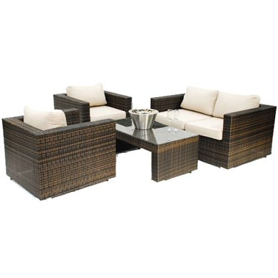 Rattan Sofa Set London