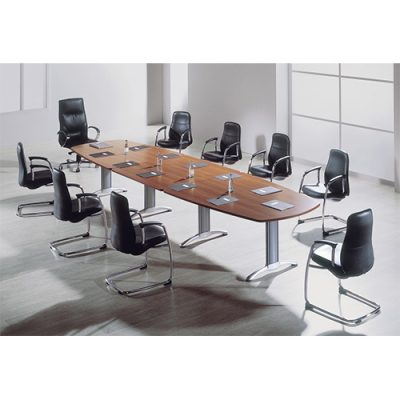 Walnut Boardroom Table Hire London