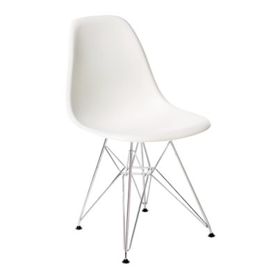 White DSR Chair Hire (Eames Style