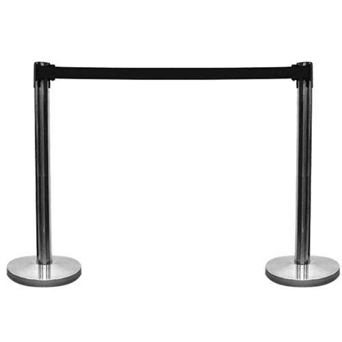 Gold Post Stanchion Hire London