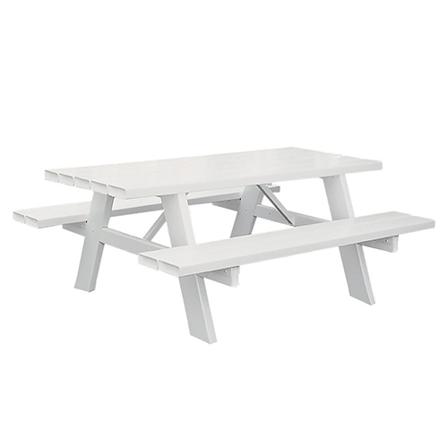 white-picnic-bench-hire-London