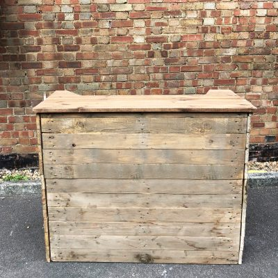 Rustic Mobile Bar Hire London