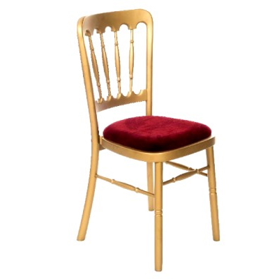 Gold Banquet Chair Hire