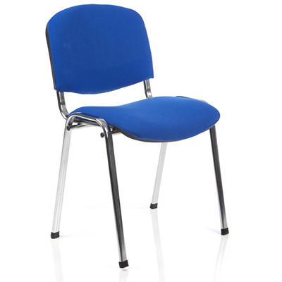 Stacking Conference Chair Hire - Blue S001 London
