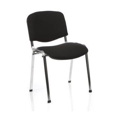 Stacking Conference Chair Hire - Black S002C London