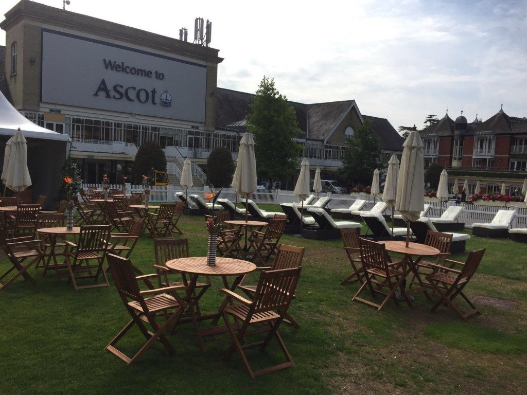 Wooden Chairs and Table Hire London