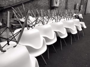 eames-black-and-white-chair-hire-london