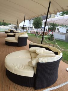 Rattan Day Bed Hire London