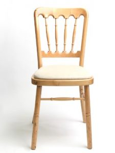 Natural Banquet Chair Hire London