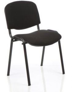 Stacking Conference Chair Hire - Black London