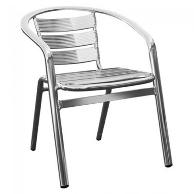 Aluminium Cafe Chair Hire
