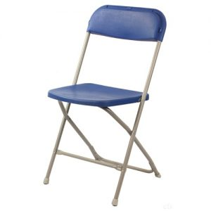 Blue Samsonite Folding Chair Hire London