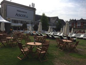 Wooden Outdoor Table and Chair Hire London