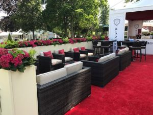Rattan Outdoor Sofa and Chair Hire London