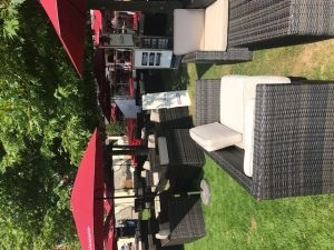 Rattan Bar Stool and Table Hire London