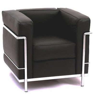 Le Corbusier Black Armchair Hire