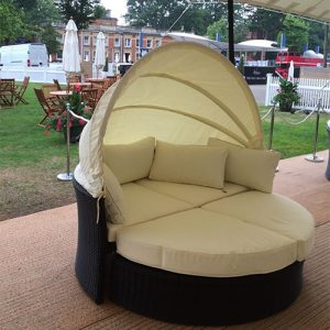 Rattan Daybed Hire London