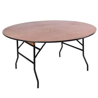 Round Banquet Table Hire London