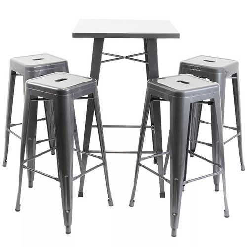 Tolix Table & Chair Hire London