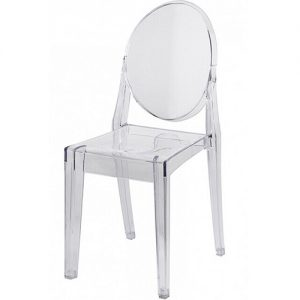 Victoria Ghost Chair Hire London