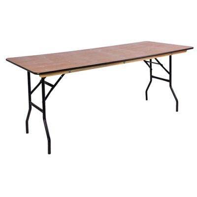 Wooden Trestle Table Hire London