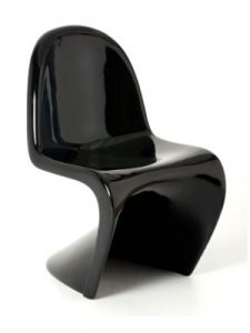 Black Panton Chair Hire London