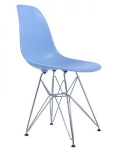 Blue DSR Chair Hire (Eames Style) London
