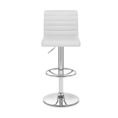 white-leather-back-bar-stool-hire London