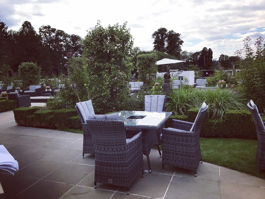 Outdoor garden chairfurniture hireparasol hire eco furniture hire london
