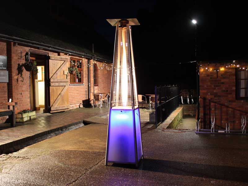 LED Patio Heater Hire London