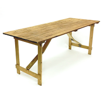Rustic Trestle Table Hire London
